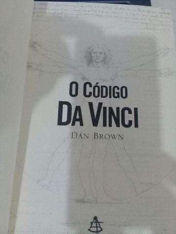 Livro o Código Da Vinci - Foto 2