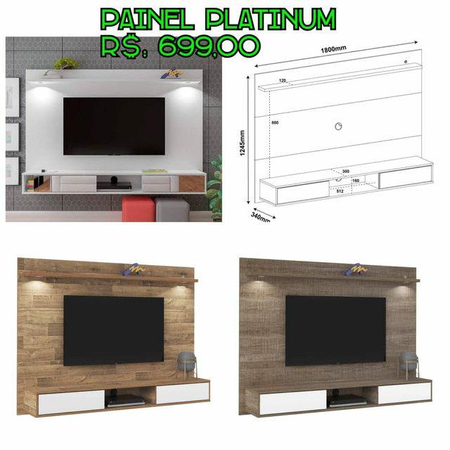 Painel para TV de 50 polegadas - Foto 4