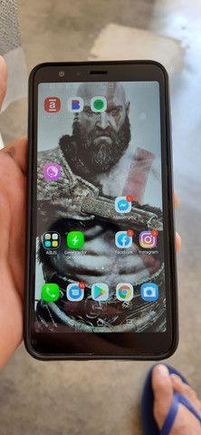 Smartphone zenfone max plus  com fone hardset inova   - Foto 4