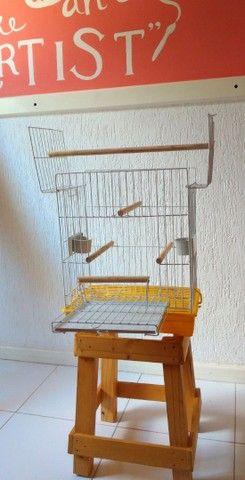 Gaiola para pequenos pássaros