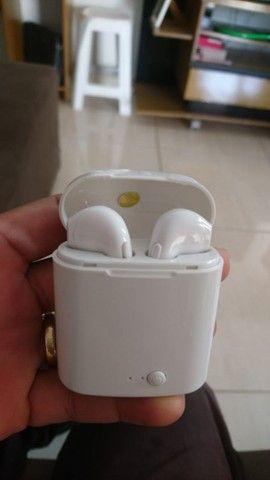 Fone de ouvido Bluetooth i7s tws funciona em todos aparelhos celulares - Foto 4
