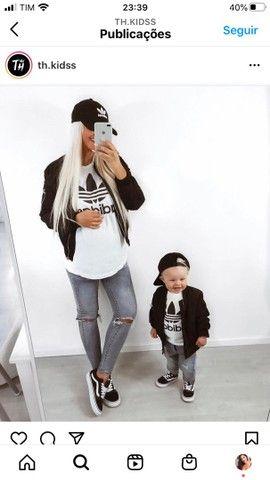 T-shirt mãe e filho(a)  - Foto 5