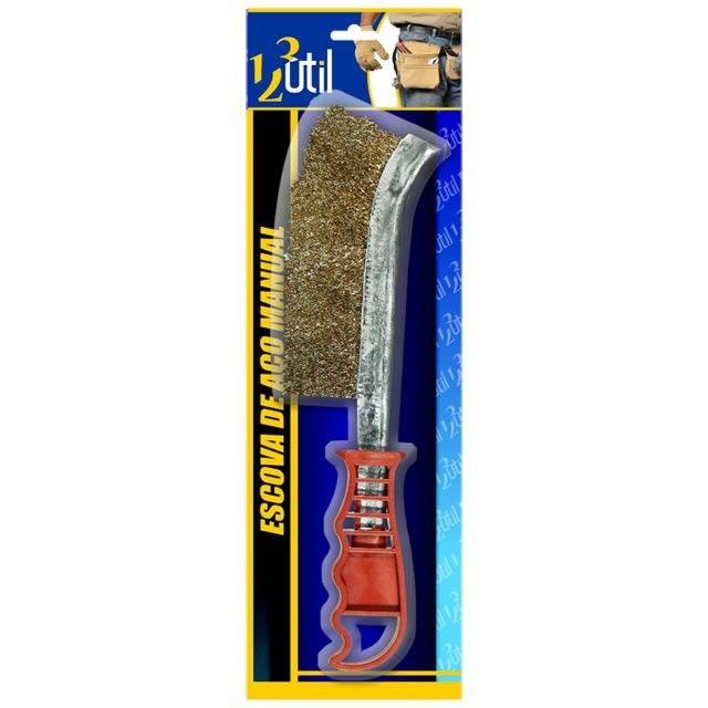 Escova De Aço Manual FR88 123