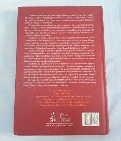 """Livro """"Introdução ao estudo do Direito"""" de Paulo Nader  - Foto 3"""