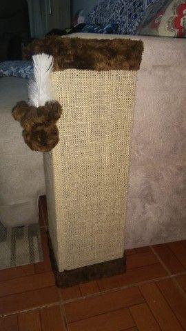 Cantoneira sofá com tela dupla, bordas chocolate - Foto 2