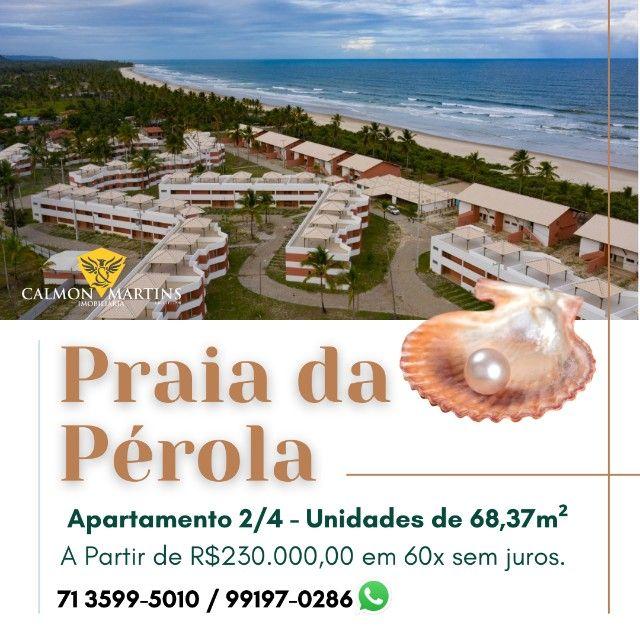 Praia da Pérola Ilhéus - Apartamento 2 quartos em 68m²