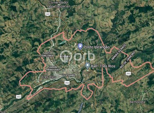 Terreno à venda com 1 dormitórios em Centro, Três rios cod:OG1606 - Foto 10