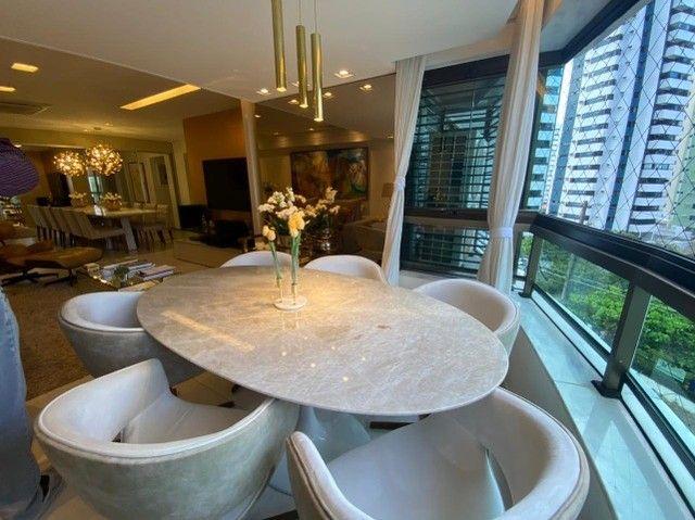 Edf Via Tazolli Setubal/129m/3 suites/capa de revista/luxo/3 vagas/lazer. - Foto 2