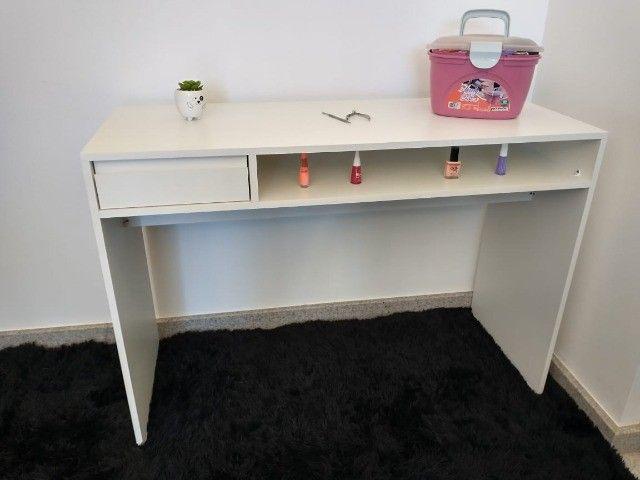 Mesa de manicure/ escrivaninha/ multiuso MDF novo - Foto 2