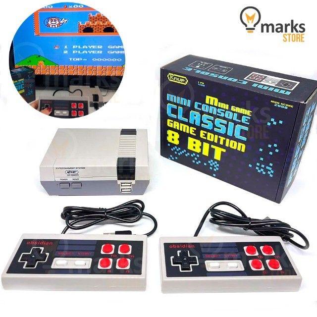 Vídeo Game Portátil Clássico 8 Bits 800 Jogos na Memória e 2 Controles Lançamento - Foto 3