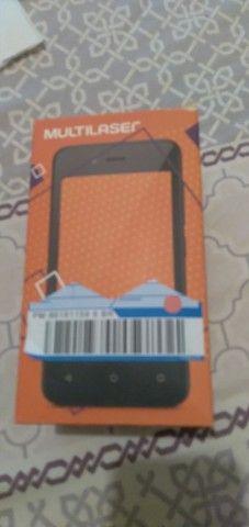 Smartphone multlaser f p 9131 Dourado