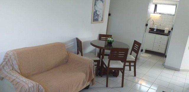 Excelente apto 2 quartos/2 BWs, mobiliado, no Cabo Branco, 1 quadra da praia. - Foto 2