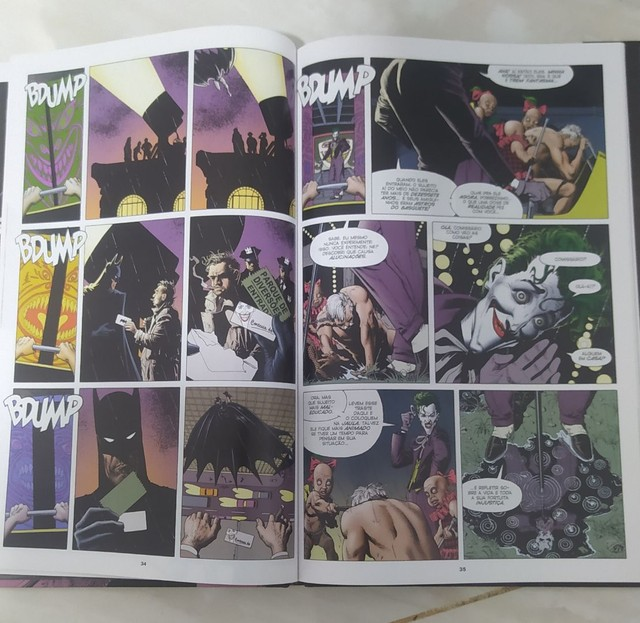 Batman coringa a piada mortal história em quadrinhos - Foto 2