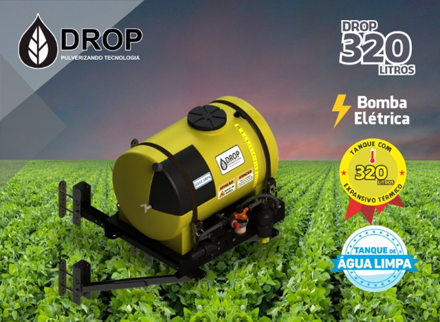 Máquina Pulverização Sulco De Plantio Drop 320 Smart - Foto 5