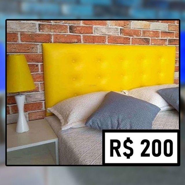 Cabeceira de Casal - de R$ 280 por apenas R$ 200 - Foto 3