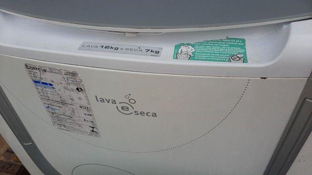 Máquina lava e seca 12 kilos Electrolux