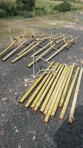 Estrutura tubular de segurança