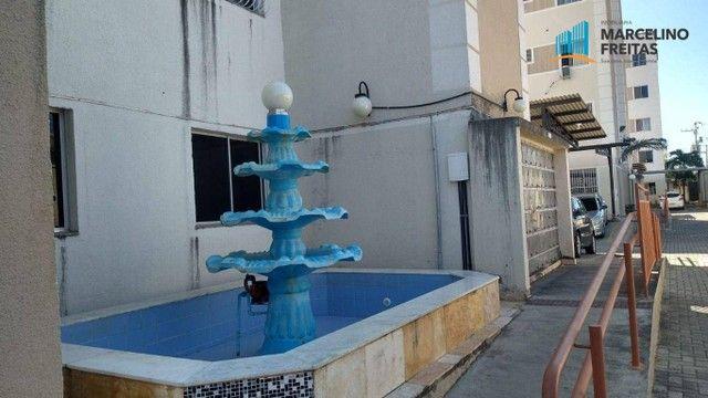 Apartamento com 2 dormitórios para alugar, 44 m² por R$ 809,00/mês - Vila Velha - Fortalez - Foto 3