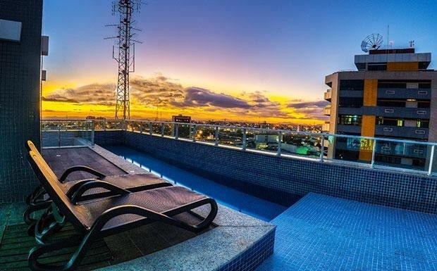 Alugo Flat mobiliado no Único Apart Hotel no Centro de Feira de Santana - BA.