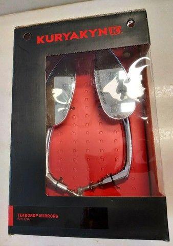 Retrovisor para Harley - Teardrop Cromado - Kuryakyn