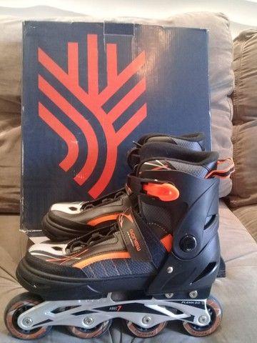 Vendo dois patins gonew Flexx 2.0 são patins profissionais. Valor 150,00 cada - Foto 4