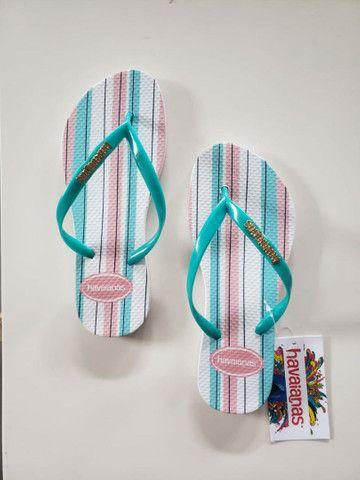 Kits chinelos com 12 pares no transfer digital,temos todas as marcas.  - Foto 5