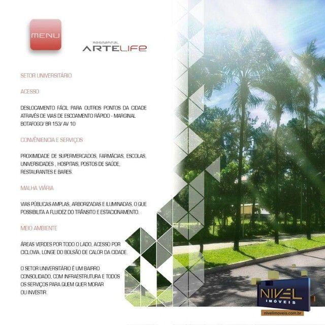 Apartamento com 3 dormitórios à venda, 90 m² por R$ 506.530 - Setor Leste Universitário -  - Foto 18