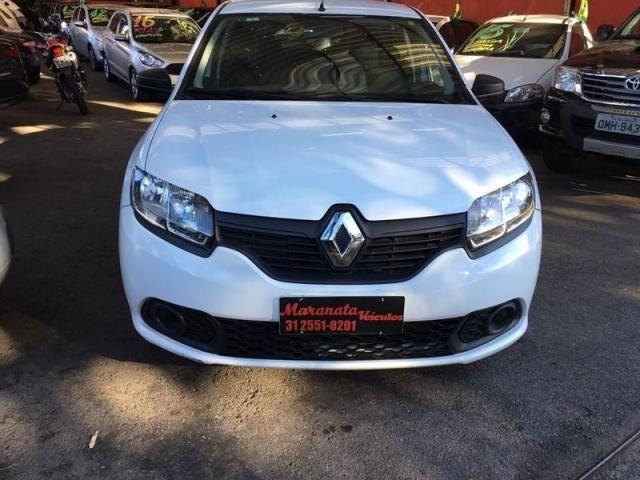 Renault SANDERO Authentique Hi-Flex 1.0 16V 5p - Foto 3