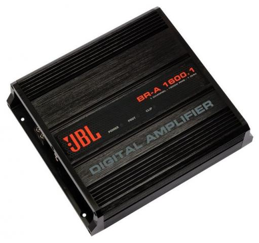 Amplificador JBL 1600W BR-A 1600.1 novo, original, com nota