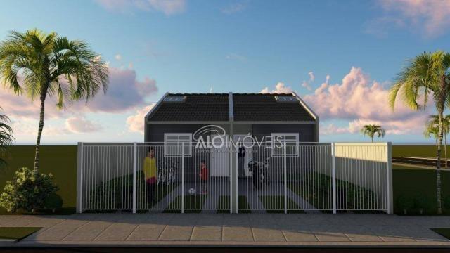 Casa com 2 dormitórios à venda, 41 m² por r$ 160.000 - campo de santana - curitiba/pr - Foto 3