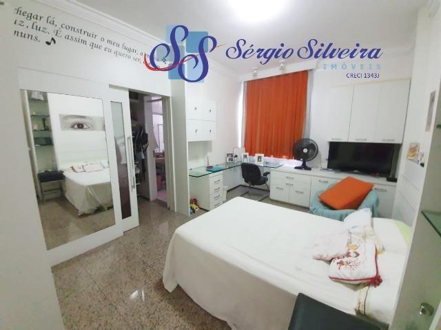 Apartamento na Aldeota com 4 suítes todas com closet, amplo e ventilado, nascente 4 vagas - Foto 9