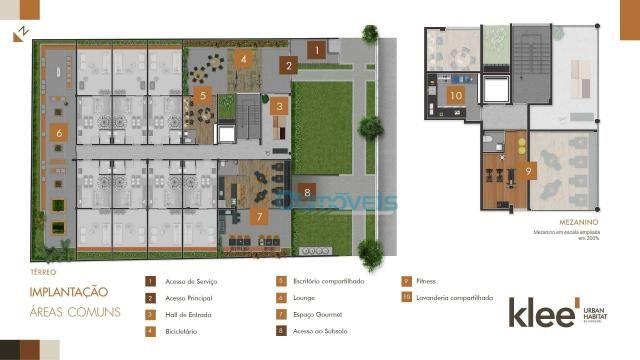 Apartamento com 3 dormitórios à venda, 73 m² por R$ 539.000 - Ecoville - Curitiba/PR - Foto 4