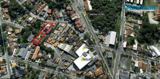 Terreno residencial à venda, Mercês, Curitiba - TE0060. - Foto 2