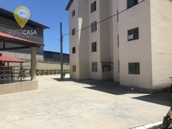 Apartamento com 2 dormitórios à venda, 47 m² - jardim limoeiro - serra/es