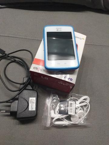 Smartphone LG L30 Sporty Dual Chip - Cor Branco/Azul - Foto 5