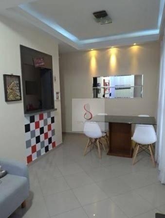 Apartamento com 3 dormitórios à venda, 74 m² por r$ 375.000 - urbanova - são josé dos camp - Foto 2