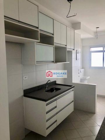 Apartamento com 2 dormitórios à venda, 53 m² por r$ 250.000,00 - vila tatetuba - são josé  - Foto 4