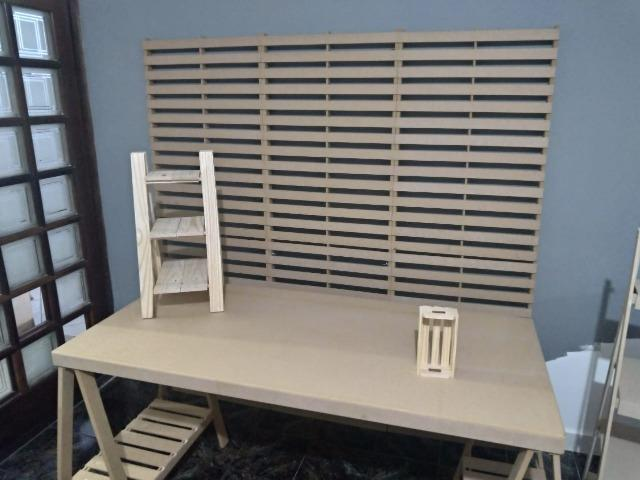 Kit Completo Decoração Palette - Aluguel - Foto 5