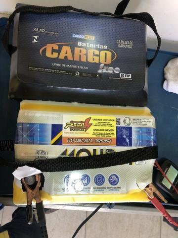 Bateria 60 ah Cargo 18 meses de garantia igual moura por apenas R$ 240,00 - Foto 3