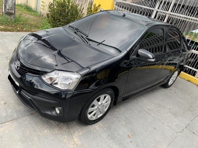 Novo Etios sedan automatico versao top de linha 2018 5 mil de entrada - Foto 7