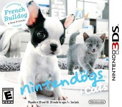 Nintendogs + cats de nintendo 3ds jogo usado