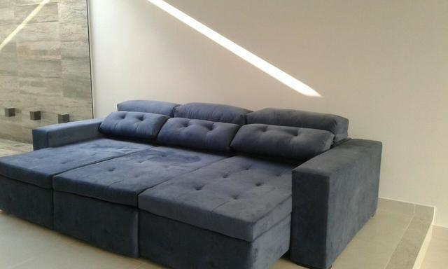 Tok Shik Estofados, sofa, poltrona, cadeira decorativa, divã, cama box, colchões ortobom - Foto 4
