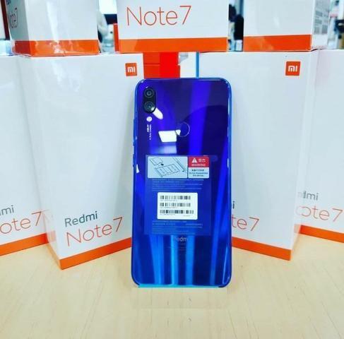 Xiaomi Redmi Note 7 Tela 6.3 4gb/64gb Dual Sim Versão Global -Azul