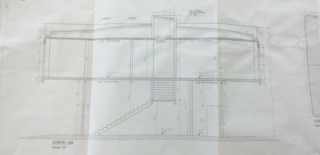 Prédio comercial vicinal inacabado na Av. LO 08 144M² (12x12) - Foto 8