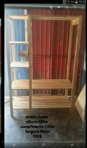 Araras em madeira - Foto 2