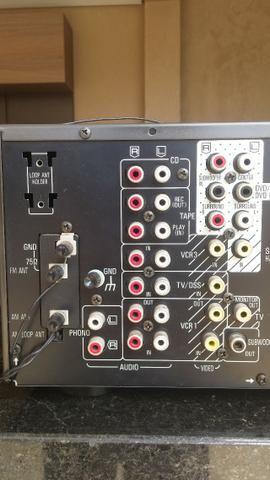Conjunto receiver Technics Sa-Ax6 e Technics Sl-Mc7 - Foto 6