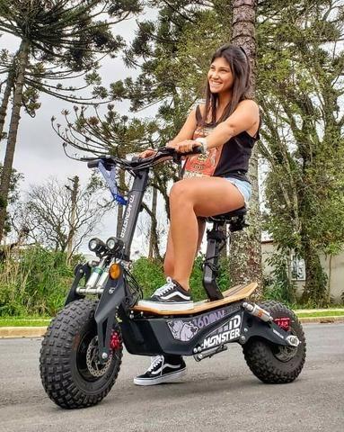 Scooter patinete NOVO MOST. 1600w 48volts adulto - Foto 4