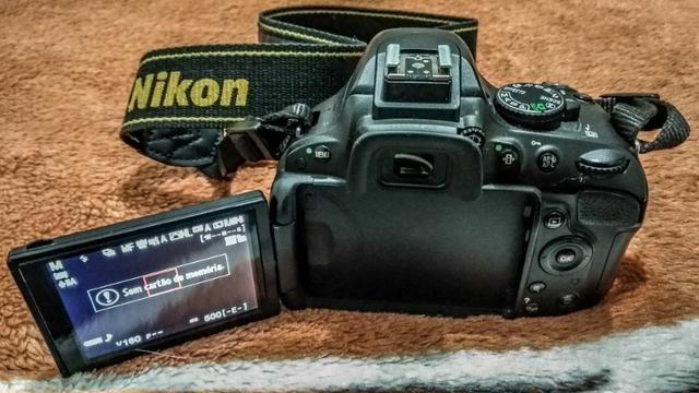 Nikon D5100 + Lente Nikkor 18-105 VR + Nikkor 35mm 1.8 + Bateria Extra - Foto 5