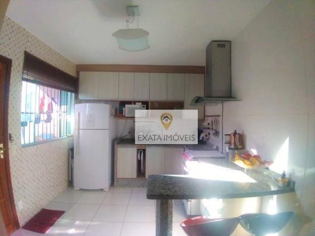 Casa duplex 03 quartos (não geminada) condomínio/amplo quintal, Marilea/Rio das Ostras. - Foto 9