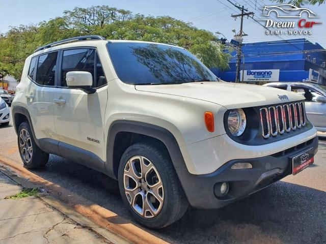 Jeep Renegade Longitude 2.0 16v turbo diesel 4x4 aut 7 air bag único dono 2016